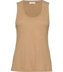 jacksonville t-shirts & tops sleeveless beige american vintage