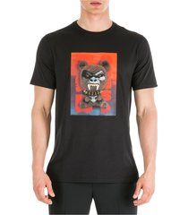 men's short sleeve t-shirt crew neckline jumper fetish bear.03 loose fit