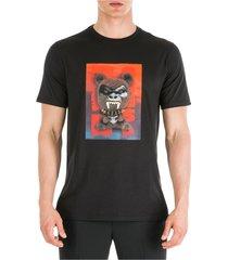 men's short sleeve t-shirt crew neckline jumper fetish bear.03 loose fit