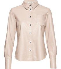 lykky shirt långärmad skjorta creme marimekko