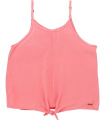 camisa manga sisa rosado  offcorss