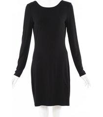 the row stretch knit knee length dress