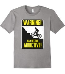 your shirt--graphic bmx bike freestyle t shirt: may become addictive! men