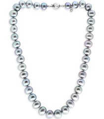 effy 925 sterling silver & 10mm freshwater pearl necklace