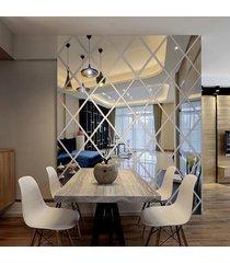 lustro akrylowe romby