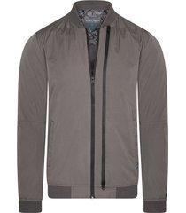 windjack cast iron double zipped jacket