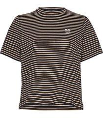 alma t-shirt t-shirts & tops short-sleeved blå wood wood