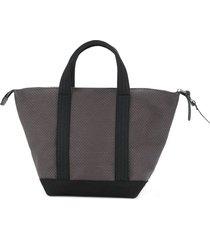 cabas mini bowlerbag tote - black