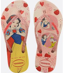 chinelo havaianas infantil kids slim princess