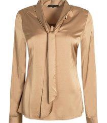 c08-96-303 blouse satijn strik