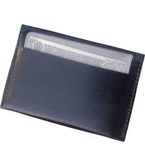 carteira porta cartã£o slim masculina de bolso vastigriff 124 preta - multicolorido/preto - masculino - dafiti