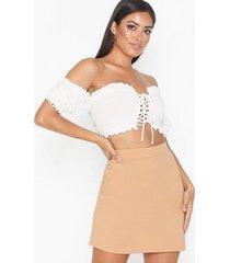 nly one a-line mini skirt minikjolar