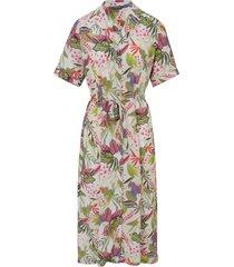 jurk met korte mouwen van basler multicolour
