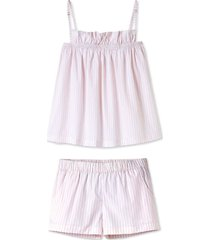 whisper ruffle shorts set