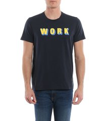 aspesi work t-shirt