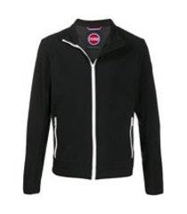 colmar jaqueta esportiva com zíper frontal - preto
