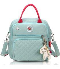 borse durevoli impermeabili di nylon dello zaino delle borse a tracolla della borsa di mommy del sacchetto multifunzionale per le donne