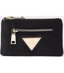 river island womens black ri mini zip pouch purse