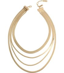 jessica simpson layered chain necklace