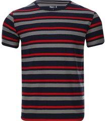 camiseta a rayas horizontales color azul, talla xs