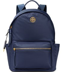 tory burch piper nylon backpack - blue