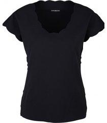 bluzka w kolorze czarnym
