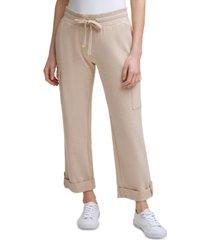 calvin klein soft cargo pants
