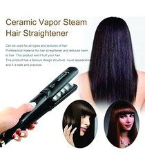 plancha alisadora professional hair salon steam styler -oil argan