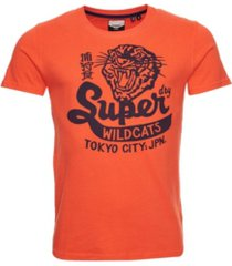 superdry limited edition collegiate men's t-shirt