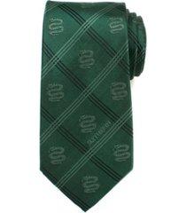 harry potter slytherin plaid men's tie