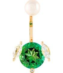 'magic puppy' diamond earring