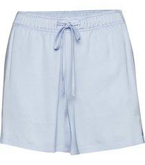 nova liquid satin shorts flowy shorts/casual shorts blå j. lindeberg
