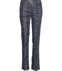 sim cobra long pant pantalon met rechte pijpen blauw mos mosh