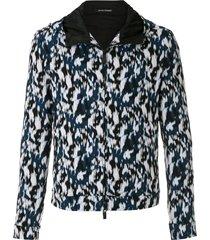 emporio armani all-over print jacket - multicolour