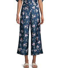 emilia wide-leg silk pants