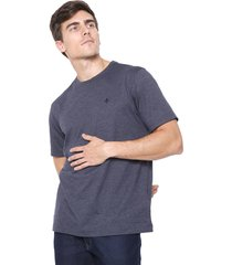 camiseta dudalina lisa azul-marinho - kanui