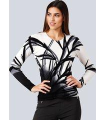 trui alba moda wit::zwart