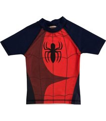 traje de baño azul marvel spiderman remera uv funny store