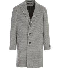 z zegna wool beaver single breasted coat