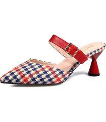 zapatillas de tacón alto de mujer sandalias de tacón zapatillas de verano