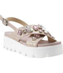 sandalia carnation rosa we love shoes
