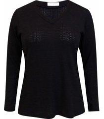 blusa pau a pique tricot
