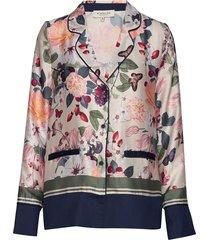 gia shirt blouse lange mouwen crème by malina