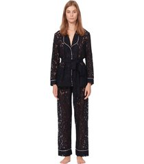 couture macrame lace pyjama