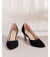 zapato tacón punta