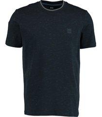 hugo boss t-shirt temew donkerblauw rf 50448107/404