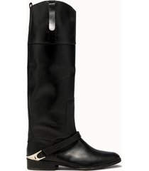 golden goose deluxe brand stivali charlie colore nero