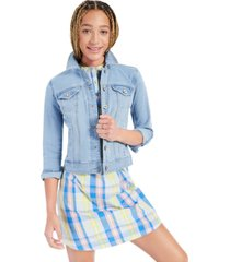 style & co denim classic jacket, created for macy's