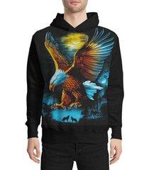 moletom stompy eagle masculino
