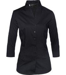 camicetta con colletto alla coreana (nero) - bpc selection